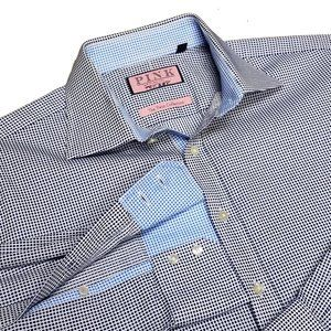 Mens Designer Thomas Pink Dress Shirt 16 35 TWIN